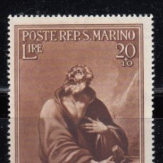 Sellos: SAN MARINO ,1944 YVERT Nº 258 / * / . Lote 107657519