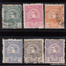 Sellos: SERBIA , 1881 YVERT Nº 27 / 32. Lote 107666771