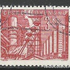 Sellos: CHECOSLOVAQUIA - 1961 - MICHEL 1268 - USADO. Lote 108249099