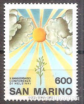 SAN MARINO,NUEVO**,YVERT 1118. (Sellos - Extranjero - Europa - Otros paises)