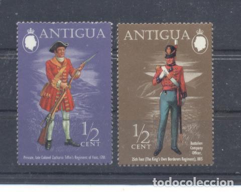 ANTIGUA Y BARBUDA, EX. COLONIA BRITANICA (Sellos - Extranjero - Europa - Otros paises)