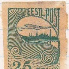 Sellos: 1919-24 - ESTONIA - VISTAS DE TALLIN - YVERT 17. Lote 115231807