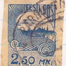 Sellos: 1919-24 - ESTONIA - VISTAS DE TALLIN - YVERT 21. Lote 115232011
