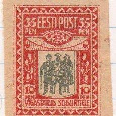 Sellos: 1920 - ESTONIA - AYUDA VICTIMAS DE LA GUERRA - YVERT 40. Lote 115232147