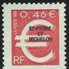 Sellos: ST. PIERRE ET MIQUELON - INTRODUCCION AL EURO (1999) **. Lote 115643971