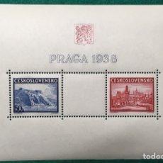 Sellos: AÑO 1938. CHECOSLOVAQUIA YV HB6***. Lote 118305106