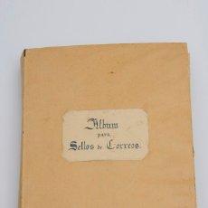 Sellos: ANTIGUA COLECCIÓN DE SELLOS DEL MUNDO EN ÁLBUM ARTESANO, MUY ORGANIZADO (2815 SELLOS). Lote 116731791
