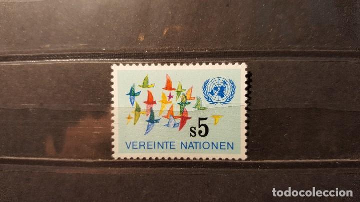 SELLO NUEVO NACIONES UNIDAS. OFICINA VIENA. NACIONES UNIDAS. 24 AGOSTO 1979. YVERT 5. (Sellos - Extranjero - Europa - Otros paises)