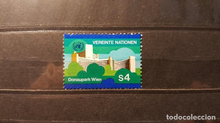 SELLO NUEVO NACIONES UNIDAS. OFICINA VIENA. DONAUPARK. 24 AGOSTO 1979. YVERT 4. (Sellos - Extranjero - Europa - Otros paises)
