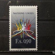Sellos: SELLO NUEVO NACIONES UNIDAS.1987-01-30.ONU.OFICINA GINEBRA. NACIONES UNIDAS. YT GE152. Lote 118301211