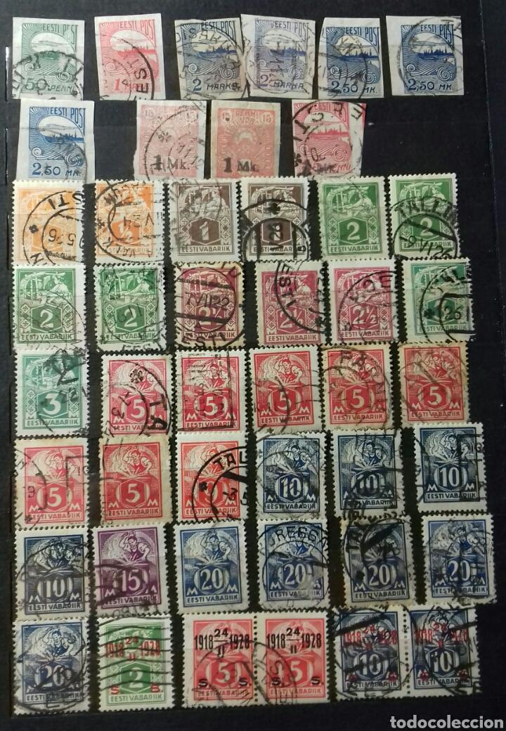 Sellos: Colección de sellos de Estonia desde su origen algunos nuevos, ocupación Alemana, variedades. .. - Foto 2 - 62382200
