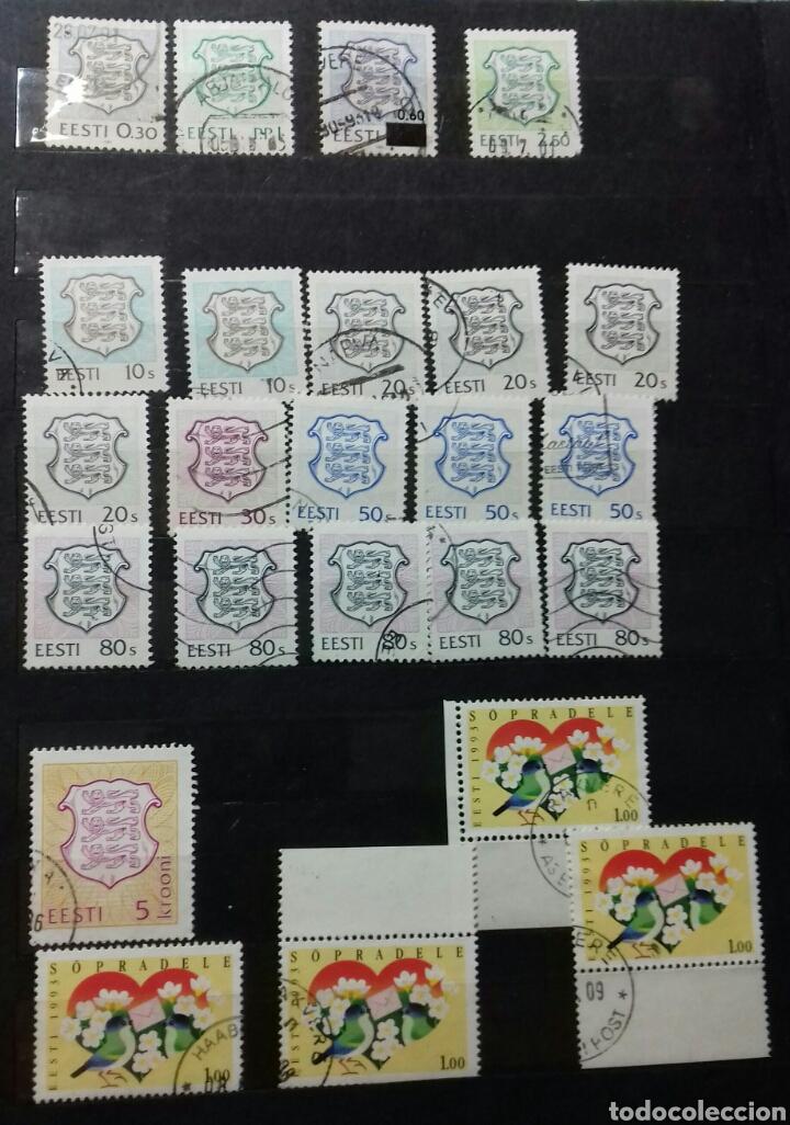 Sellos: Colección de sellos de Estonia desde su origen algunos nuevos, ocupación Alemana, variedades. .. - Foto 4 - 62382200