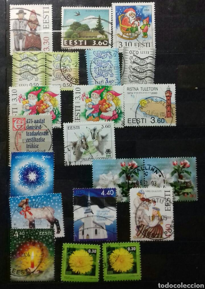Sellos: Colección de sellos de Estonia desde su origen algunos nuevos, ocupación Alemana, variedades. .. - Foto 5 - 62382200