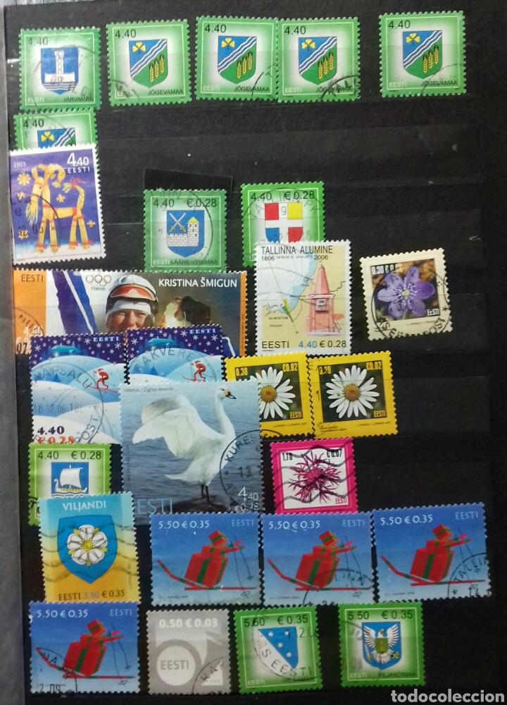 Sellos: Colección de sellos de Estonia desde su origen algunos nuevos, ocupación Alemana, variedades. .. - Foto 6 - 62382200