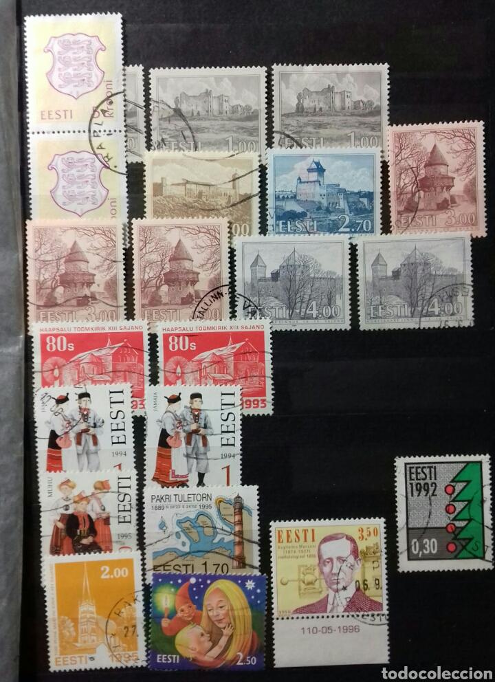 Sellos: Colección de sellos de Estonia desde su origen algunos nuevos, ocupación Alemana, variedades. .. - Foto 7 - 62382200