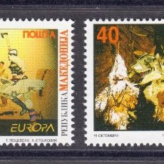 Sellos: MACEDONIA 1998 EUROPA FESTIVALES. Lote 118826831