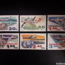 Sellos: CHECOSLOVAQUIA. YVERT 2011/6. SERIE COMPLETA NUEVA SIN CHARNELA. AVIONES.. Lote 119053134