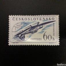 Sellos: CHECOSLOVAQUIA. YVERT 1104. SERIE COMPLETA NUEVA SIN CHARNELA. AVIONES.. Lote 120095975