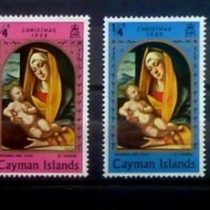 Sellos: COL.INGLESAS-ISLAS CAIMAN NUEVOS. Lote 120551331