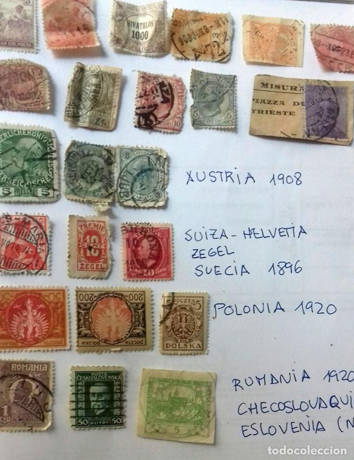 LOTE 23 SELLOS EUROPA AÑOS 1896 A 1920. HUNGRIA-POLONIA-ITALIA-AUSTRIA SUIZA-RUMANIA-ESLOV ETC.USADO (Sellos - Extranjero - Europa - Otros paises)