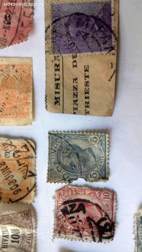 Sellos: LOTE 23 SELLOS EUROPA AÑOS 1896 A 1920. HUNGRIA-POLONIA-ITALIA-AUSTRIA SUIZA-RUMANIA-ESLOV ETC.USADO - Foto 7 - 128033083