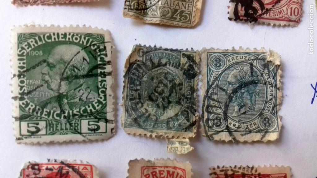Sellos: LOTE 23 SELLOS EUROPA AÑOS 1896 A 1920. HUNGRIA-POLONIA-ITALIA-AUSTRIA SUIZA-RUMANIA-ESLOV ETC.USADO - Foto 8 - 128033083
