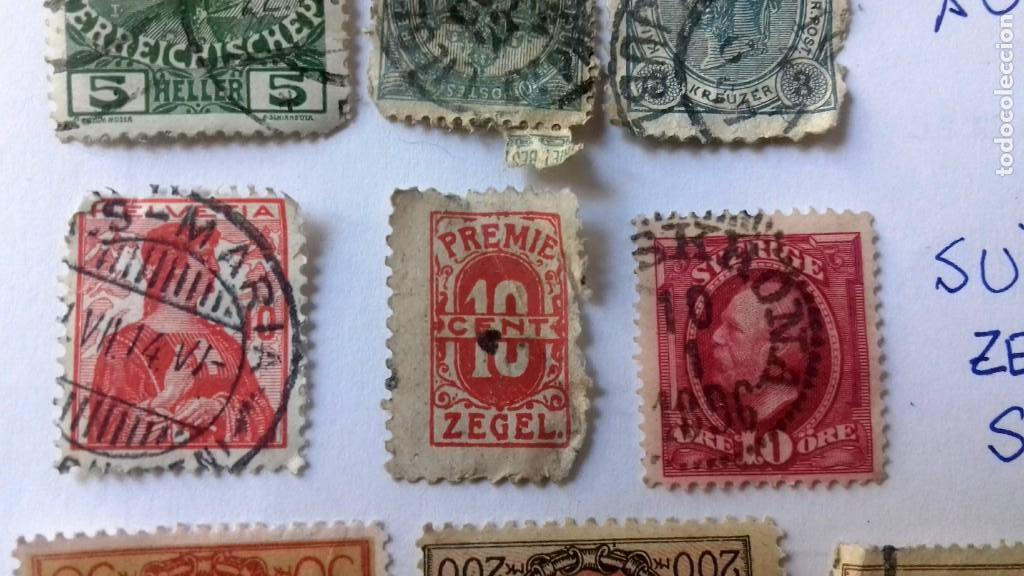 Sellos: LOTE 23 SELLOS EUROPA AÑOS 1896 A 1920. HUNGRIA-POLONIA-ITALIA-AUSTRIA SUIZA-RUMANIA-ESLOV ETC.USADO - Foto 9 - 128033083
