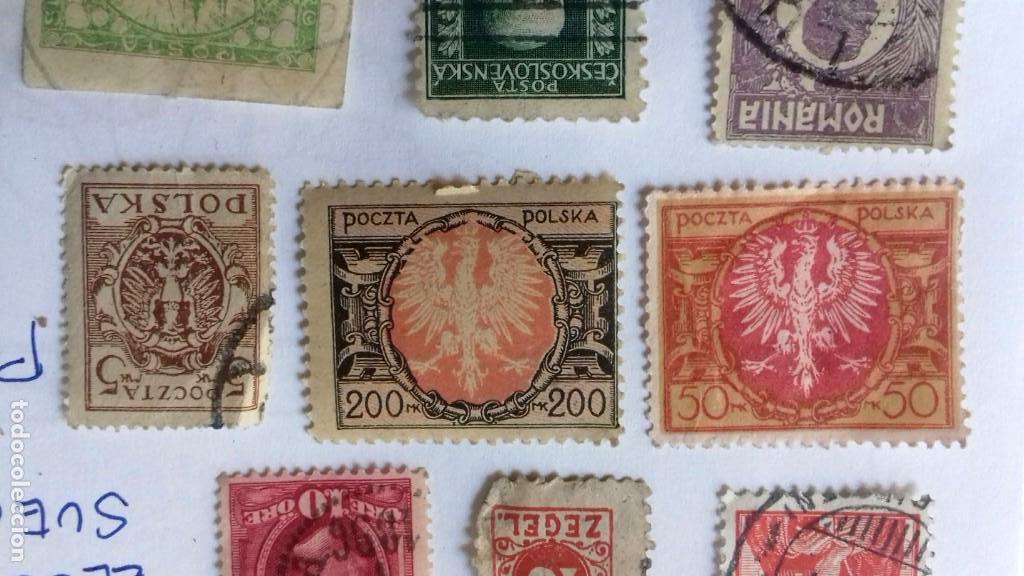 Sellos: LOTE 23 SELLOS EUROPA AÑOS 1896 A 1920. HUNGRIA-POLONIA-ITALIA-AUSTRIA SUIZA-RUMANIA-ESLOV ETC.USADO - Foto 10 - 128033083