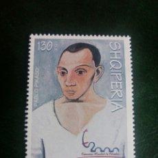 Sellos: PINTURA. ALBANIA. ESPAÑA 2000. Lote 129019774