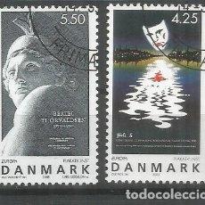 Sellos: DINAMARCA EUROPA CEPT 2003 ARTE ART. Lote 129257191