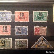 Sellos: LITUANIA.AÑO 1922.AEREA.. Lote 129601215