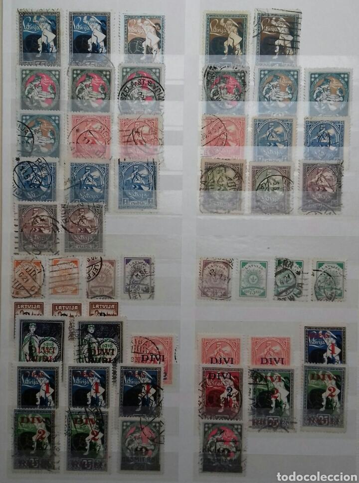 Sellos: Colección de sellos de Letonia (Latvija) En Clasificador - Foto 2 - 134916723