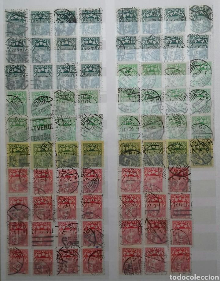 Sellos: Colección de sellos de Letonia (Latvija) En Clasificador - Foto 4 - 134916723