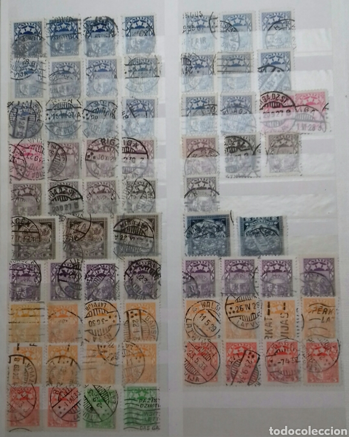 Sellos: Colección de sellos de Letonia (Latvija) En Clasificador - Foto 6 - 134916723
