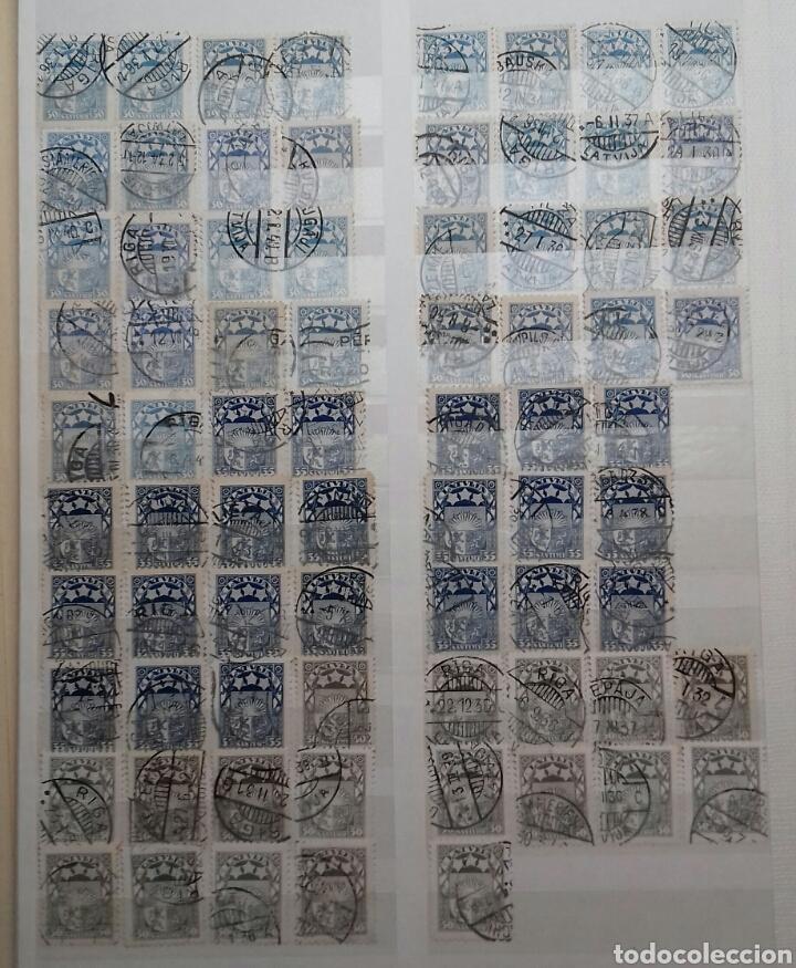 Sellos: Colección de sellos de Letonia (Latvija) En Clasificador - Foto 8 - 134916723