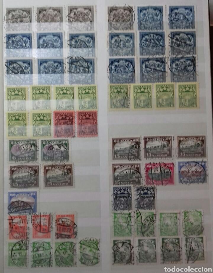 Sellos: Colección de sellos de Letonia (Latvija) En Clasificador - Foto 9 - 134916723