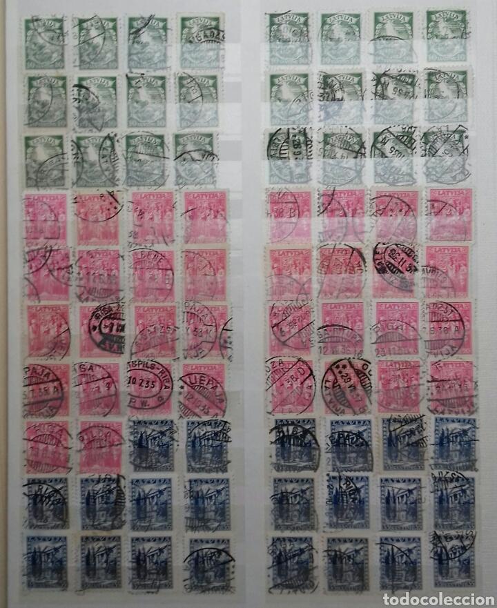 Sellos: Colección de sellos de Letonia (Latvija) En Clasificador - Foto 10 - 134916723