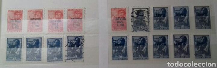 Sellos: Colección de sellos de Letonia (Latvija) En Clasificador - Foto 12 - 134916723