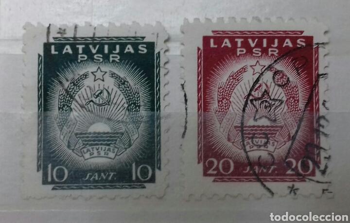 Sellos: Colección de sellos de Letonia (Latvija) En Clasificador - Foto 13 - 134916723