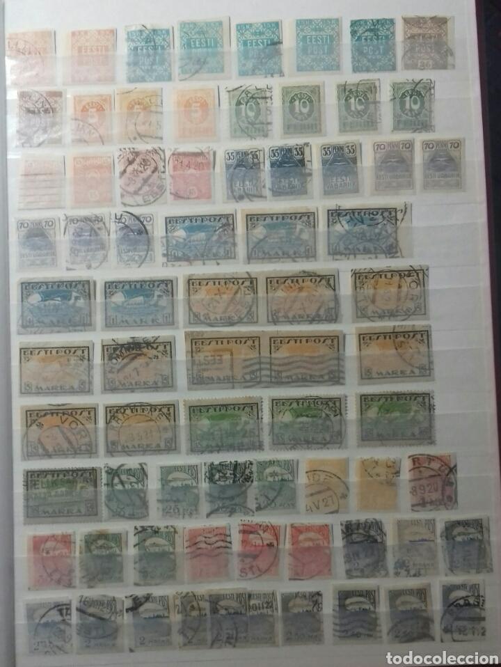 Sellos: Colección de sellos de Estonia desde su origen algunos nuevos, ocupación Alemana, variedades. .. - Foto 8 - 62382200