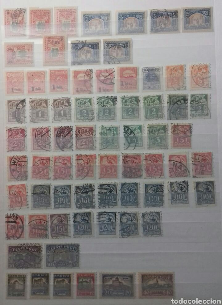 Sellos: Colección de sellos de Estonia desde su origen algunos nuevos, ocupación Alemana, variedades. .. - Foto 9 - 62382200