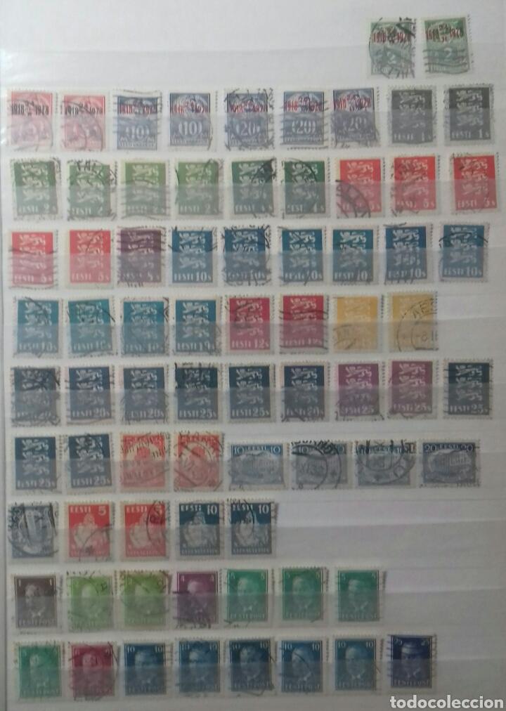 Sellos: Colección de sellos de Estonia desde su origen algunos nuevos, ocupación Alemana, variedades. .. - Foto 10 - 62382200