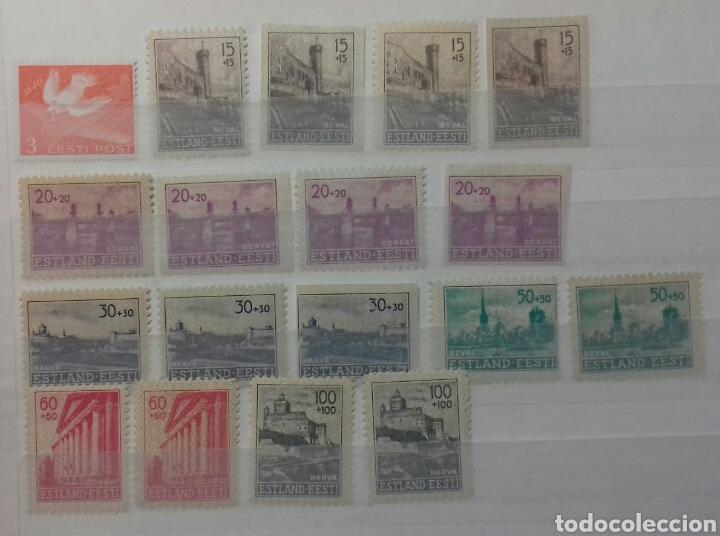 Sellos: Colección de sellos de Estonia desde su origen algunos nuevos, ocupación Alemana, variedades. .. - Foto 11 - 62382200