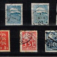 Sellos: EESTI (ESTONIA) - LOTE SELLOS. Lote 140883170
