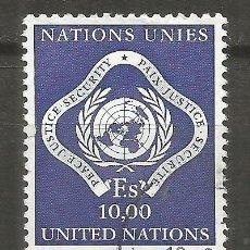 Sellos: NACIONES UNIDAS OFICINA EN GINEBRA YVERT NUM. 14 USADO. Lote 141116078