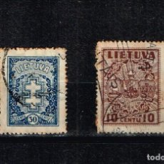 Sellos: SELLOS LITUANIA. Lote 141605366