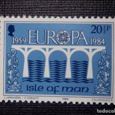 Sellos: SELLO ISLA DE MAN - EUROPA - CEPT - NUEVO - AÑO 1984. Lote 146812342