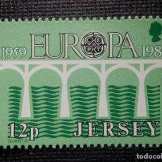 Sellos: SELLO JERSEY - EUROPA - CEPT - NUEVO - AÑO 1984 . Lote 146812402