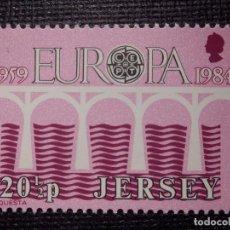 Sellos: SELLO JERSEY - EUROPA - CEPT - NUEVO - AÑO 1984 . Lote 146812410