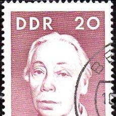 Sellos: 1967 - ALEMANIA - DDR - CELEBRIDADES - YVERT 992. Lote 147567114